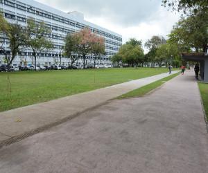 Fachada do campus Recife da UFPE