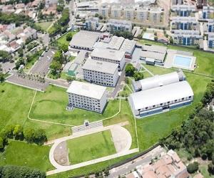 Imagem aérea do Campus III em Umuarama