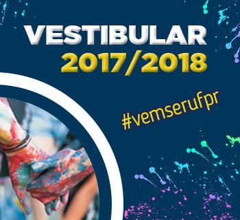 Inscrições para Vestibular 2017/2018 da UFPR estão abertas