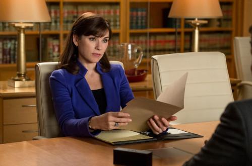 Juliana Marguiles interpreta a protagonista Alicia Florrick, em The Good Wife /Crédito: Reprodução