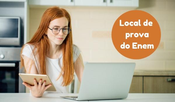 Local de prova do Enem é acessado somente pela internet