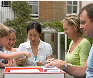No intercâmbio em casa, estudante não é tratado como um turista, mas como um membro da família
