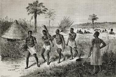 O tráfico de escravos africanos era tão lucrativo quanto a economia açucareira