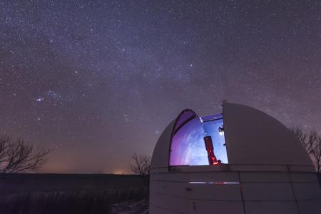 Observatórios fazem parte do local de trabalho de astrônomos.