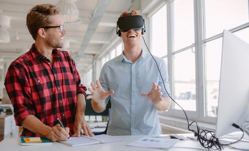 Os óculos de realidade virtual é uma das inovações no mercado de games
