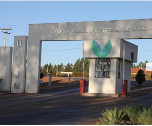 UFVJM é a única Universidade Federal com sede na metade setentrional do estado