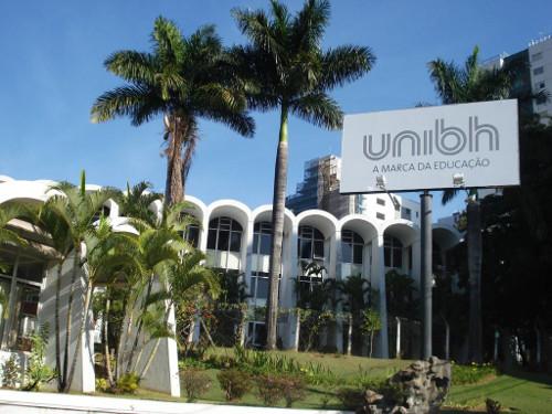 UniBH está instalado em três unidades, localizadas nos bairros Lourdes, Estoril e União